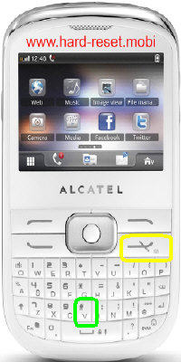 Alcatel One Touch 819A Hard Reset