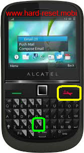 Alcatel One Touch 900D Hard Reset