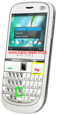Alcatel One Touch 901S Hard Reset