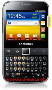 Samsung Galax Y Pro B5510L Soft Reset