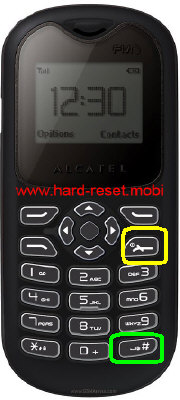 alcatel One Touch 108 Hard Reset