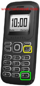 Alcatel One Touch 132A Hard Reset