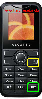 Alcatel One Touch S210 Hard Reset