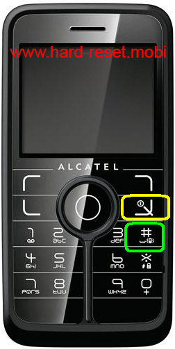 Alcatel One Touch V770A Hard Reset