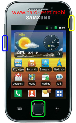 Samsung Galaxy Y S5360B Download Mode