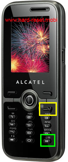 Alcatel One Touch S520 Hard Reset