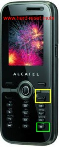 Alcatel One Touch S521A Hard Reset