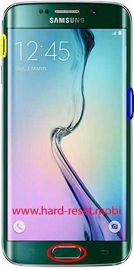 Samsung Galaxy S6 Edge SM-G925f Hard Reset
