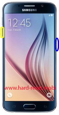 Samsung Galaxy S6 SM-G920i Soft Reset