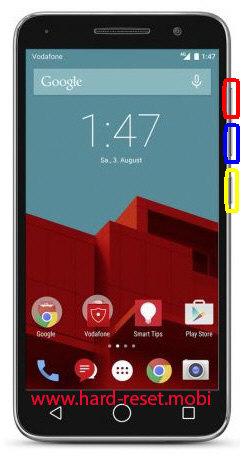 Vodafone Smart Prime 6 Hard Reset