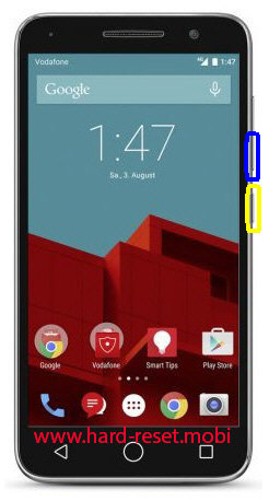 Vodafone Smart Prime 6 Soft Reset