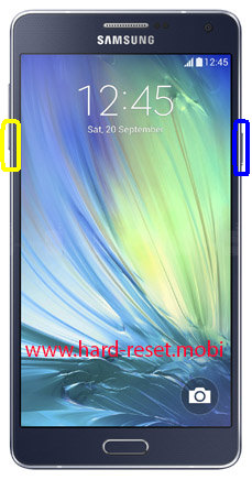 Samsung Galaxy A7 SM-A7009 Soft Reset