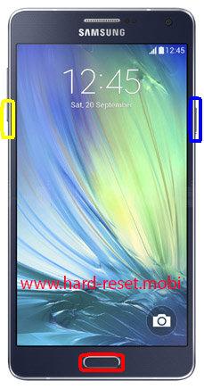 Samsung Galaxy A7 SM-A7009W Download Mode