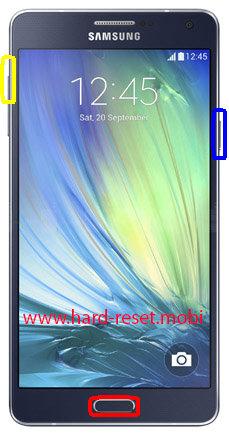 Samsung Galaxy A7 SM-A700F Hard Reset