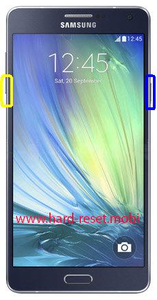 Samsung Galaxy A7 SM-A700F Soft Reset