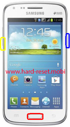 Samsung Galaxy Core GT-I8260 Download Mode