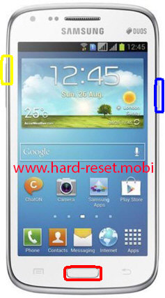Samsung Galaxy Core GT-I8260 Hard Reset