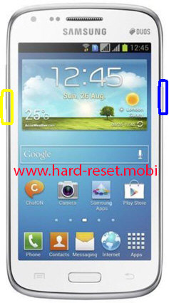 Samsung Galaxy Core GT-I8260 Soft Reset