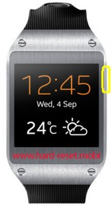 Samsung Galaxy Gear SM-V700 Soft Reset