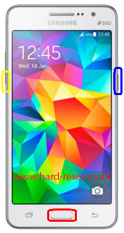Samsung Galaxy Grand Prime SM-G530H Download Mode