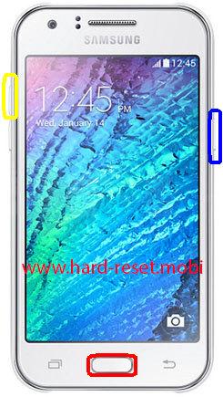 Samsung Galaxy J1 4G Hard Reset