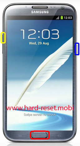 Samsung Galaxy Note 2 Hard Reset