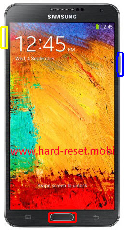 Samsung Galaxy Note 3 Hard Reset