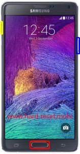 Samsung Galaxy Note 4 Hard Reset