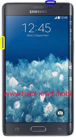 Samsung Galaxy Note Edge Soft Reset