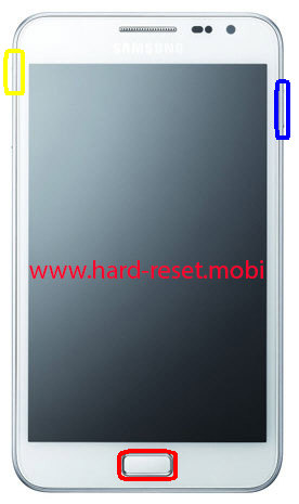 Samsung Galaxy Note Hard Reset