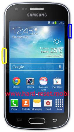 Samsung Galaxy S Duos GT-S7562 Soft Reset