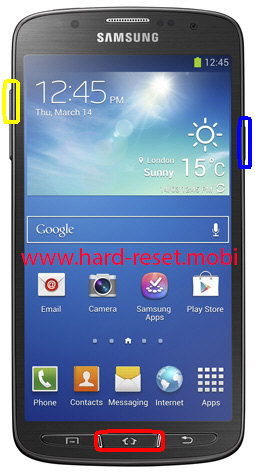 Samsung Galaxy S4 Active Hard Reset