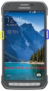 Samsung Galaxy S5 Active Soft Reset
