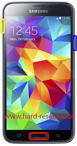 Samsung Galaxy S5 Hard Reset