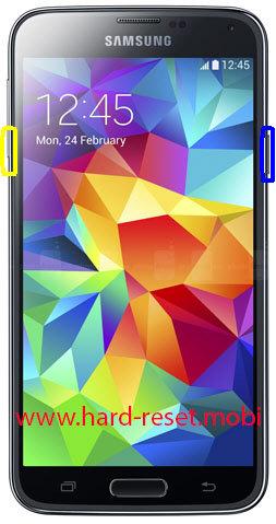 Samsung Galaxy S5 Soft Reset