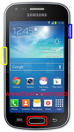 Samsung Galaxy Trend GT-S7560M Download Mode
