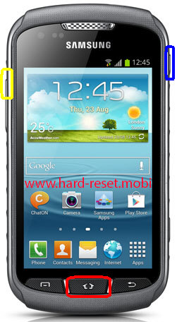 Samsung Galaxy Xcover 2 GT-S7710 Hard Reset