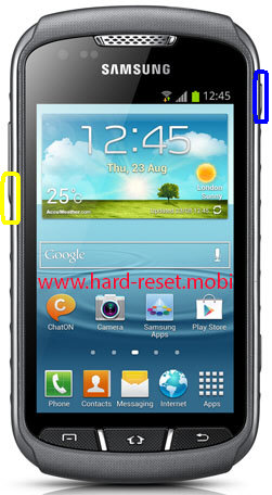 Samsung Galaxy Xcover 2 GT-S7710 Soft Reset