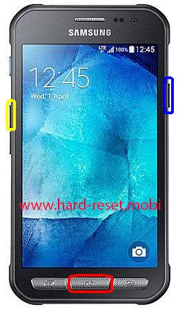 Samsung Galaxy Xcover 3 SM-G388F Hard Reset