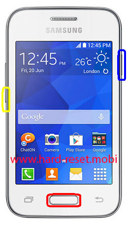 Samsung Galaxy Young 2 SH-G130HN Download Mode