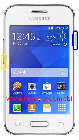 Samsung Galaxy Young 2 SH-G130HN Soft Reset