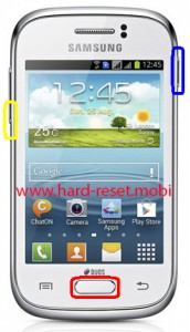 Samsung Galaxy Young GT-S6310 Download Mode