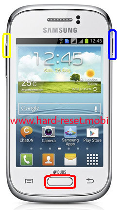 Samsung Galaxy Young GT-S6310 Hard Reset