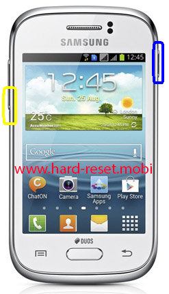 Samsung Galaxy Young GT-S6310 Soft Reset