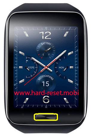 Samsung Gear S Hard Reset