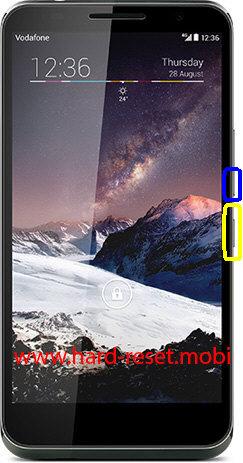 Vodafone 990N Soft Reset