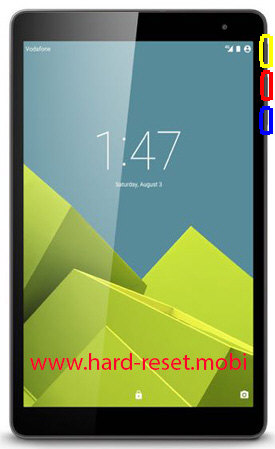 Vodafone Smart Tab Prime 6 Hard Reset