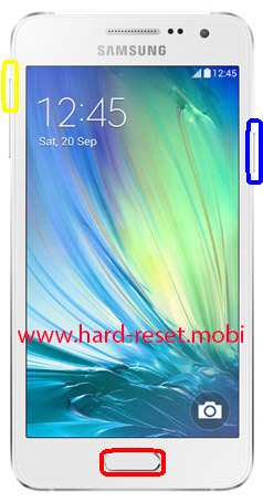 Samsung Galaxy A3 SM-A3000 Hard Reset
