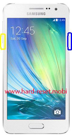 Samsung Galaxy A3 SM-A3000 Soft Reset