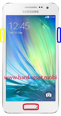 Samsung Galaxy A3 SM-A3009W Download Mode